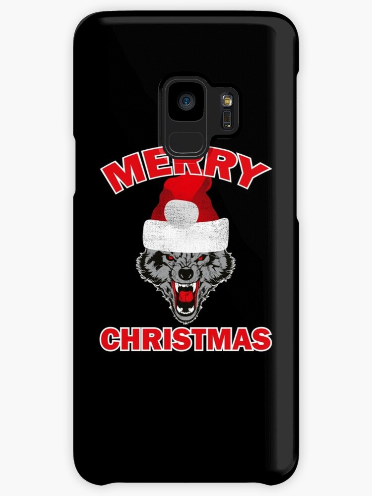 Funny Ugly Christmas Wolf Santa Hat Gift Ideas\