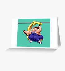 Earthworm Jim - Fat Man Greeting Card