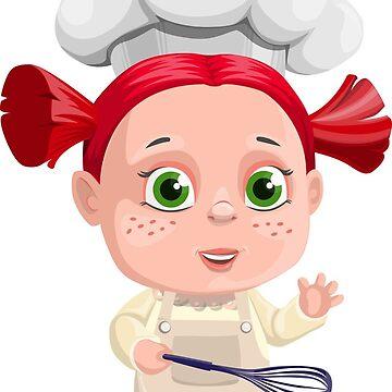 Cute Girl Cooking Funny by RajaArslan321