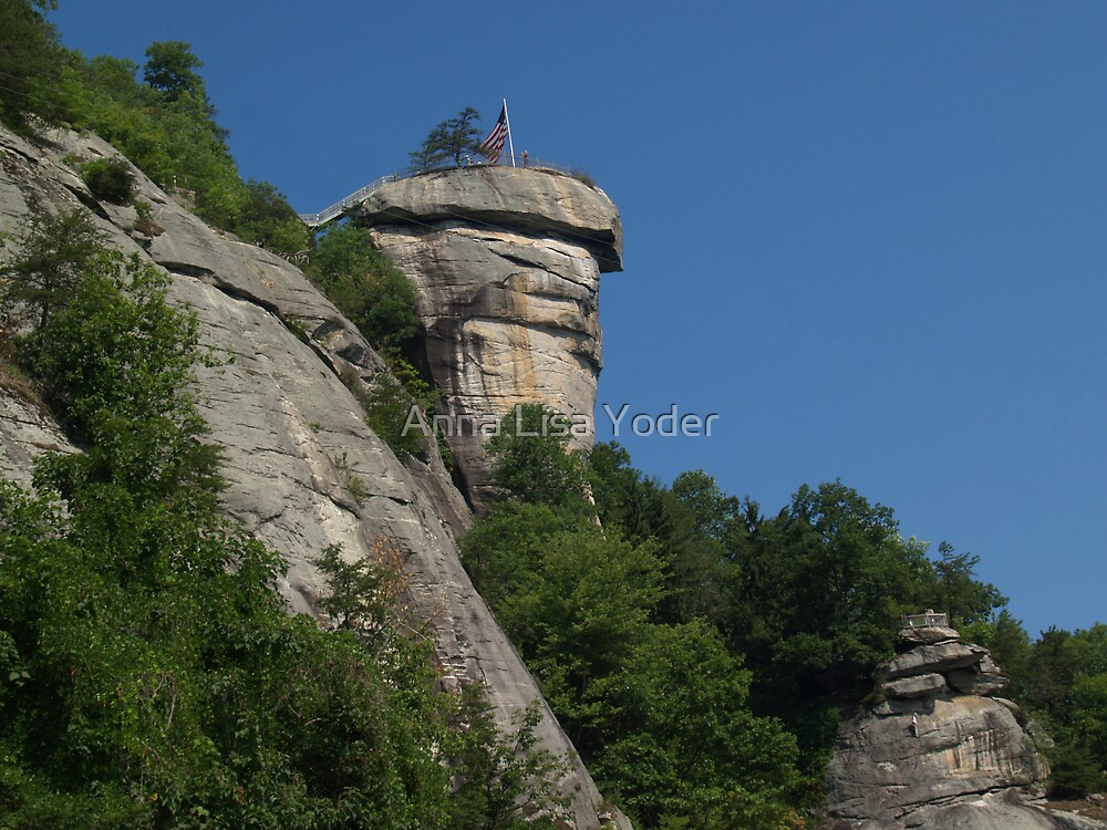 Chimney Rock State Park by Anna Lisa Yoder