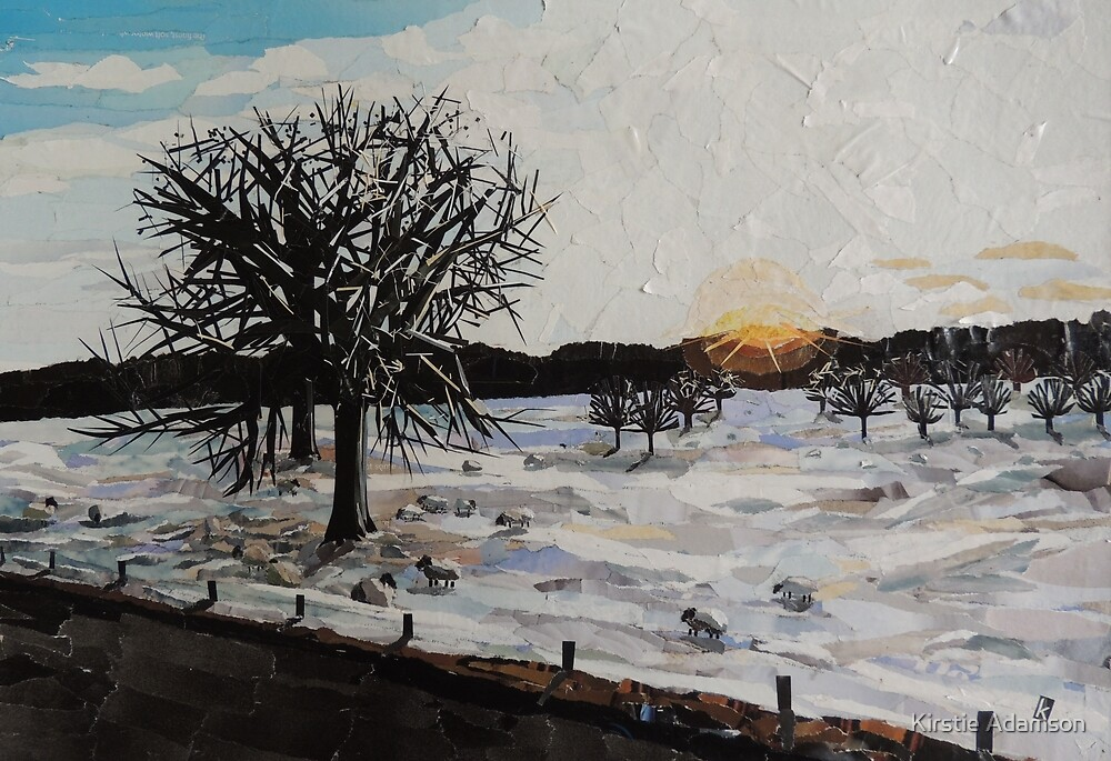 Chatsworth Estate, Winter Twilight by Kirstie Adamson