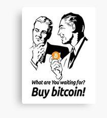 Buy Bitcoin Canvas Print