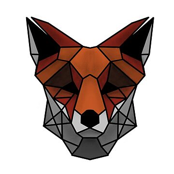Geometric fox by FrancisMacomber