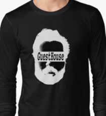GuestHouse Face Logo White Long Sleeve T-Shirt