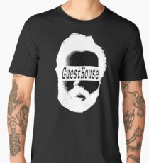 GuestHouse Face Logo White Men's Premium T-Shirt