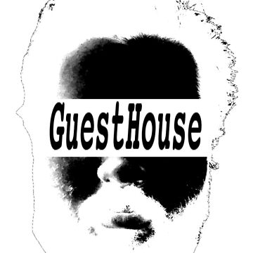 GuestHouse Face Logo White by REYEZ