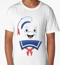 Mr. Marshmallow Destruction (Happy Version) Long T-Shirt