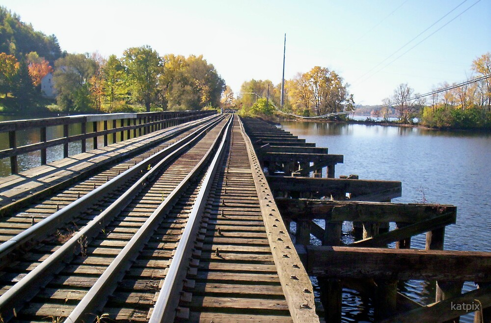 Tracks Across the Bay by katpix