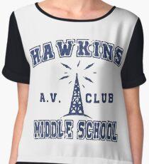 Stranger Things 2 - Hawkins AV Club Chiffon Top