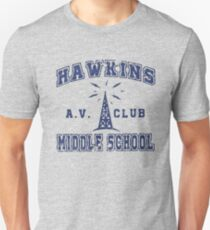 Stranger Things 2 - Hawkins AV Club Unisex T-Shirt