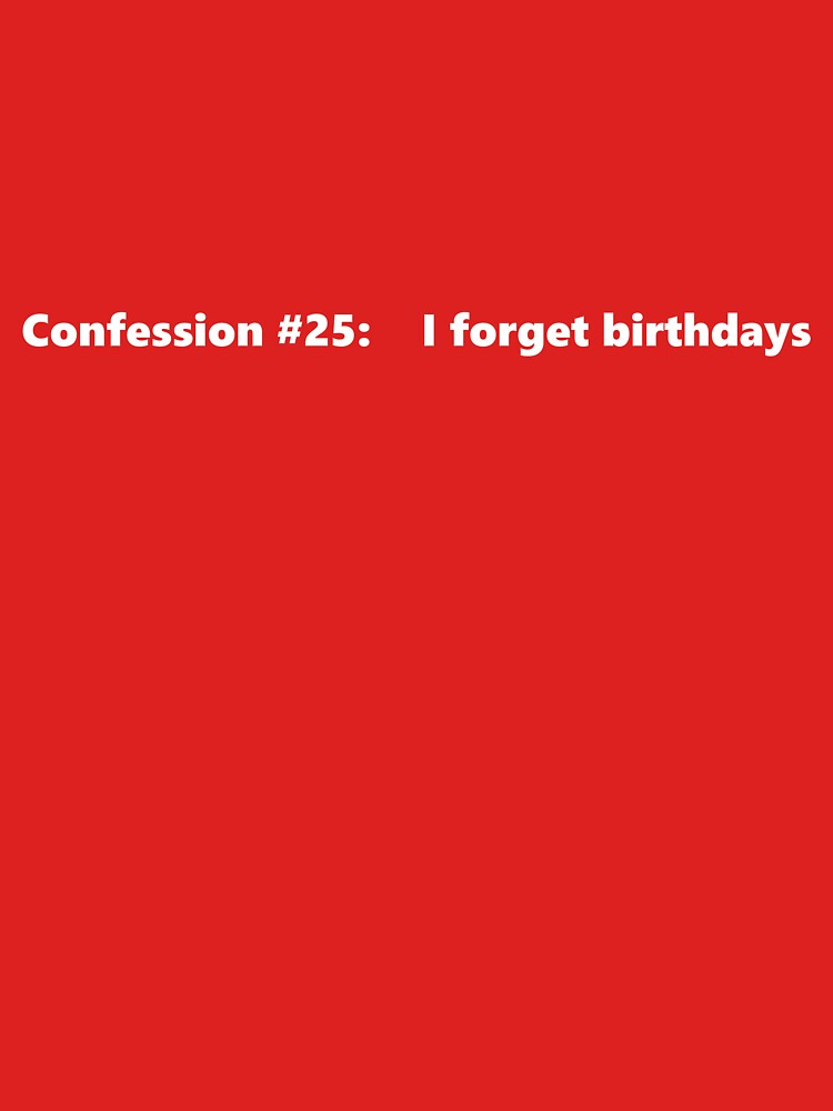 Confession #25 by newbs