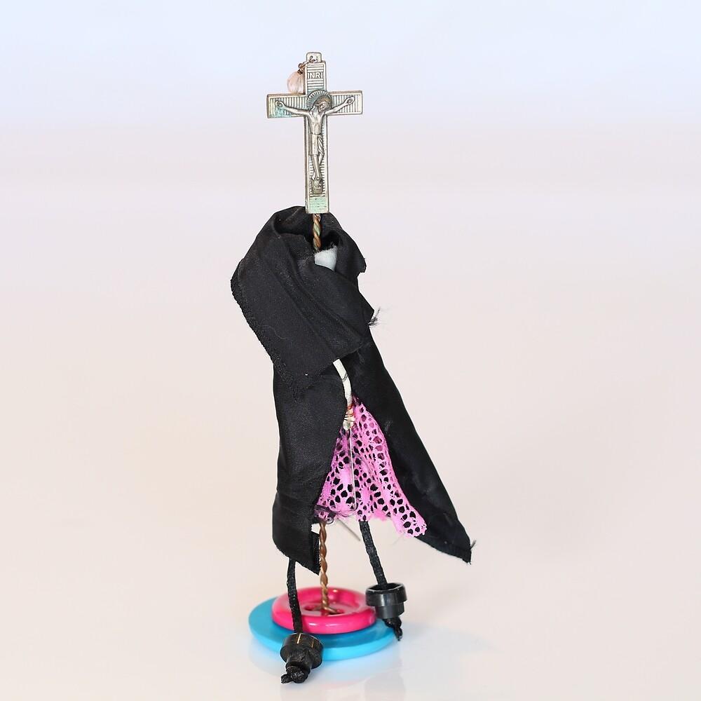 Girl With The Cross by sherriljennings
