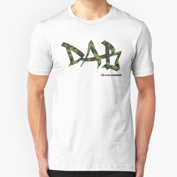 DAB camo Slim Fit T-Shirt