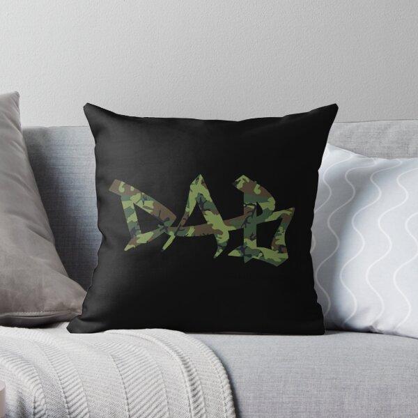 DAB camo Throw Pillow