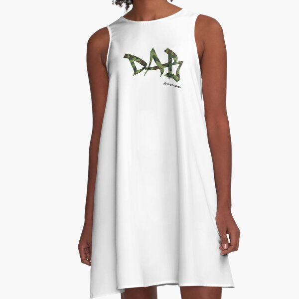 DAB camo A-Line Dress
