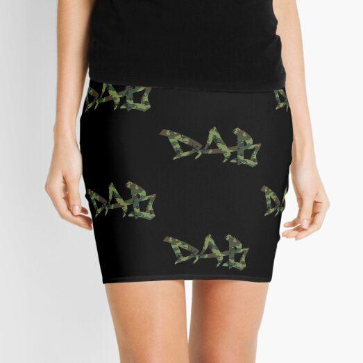 DAB camo Mini Skirt