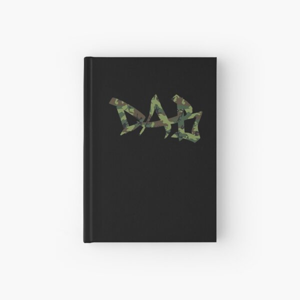 DAB camo Hardcover Journal