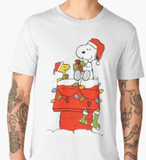 Snoopy Christmas Men's Premium T-Shirt