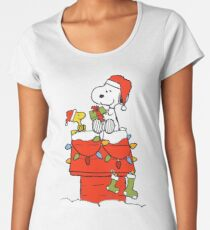 Snoopy Christmas Women's Premium T-Shirt