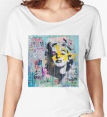 Marilyn Monroe - street art Women's Relaxed Fit T-Shirt