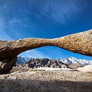 Natural Arch, Alabama Hills. by Dave Hare