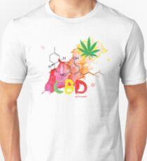 CBD Splash Slim Fit T-Shirt
