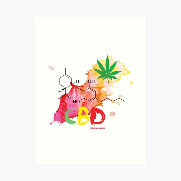CBD Splash Art Print