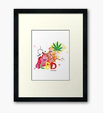 CBD Splash Framed Print