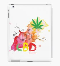 CBD Splash iPad Case/Skin