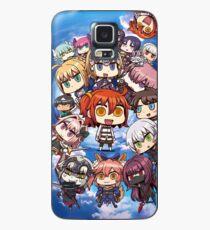 Schicksal / Großauftrag Manga Phone Case Hülle & Klebefolie für Samsung Galaxy