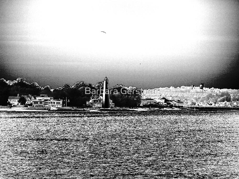 Lighthouse in chrome by Barbara Gerstner