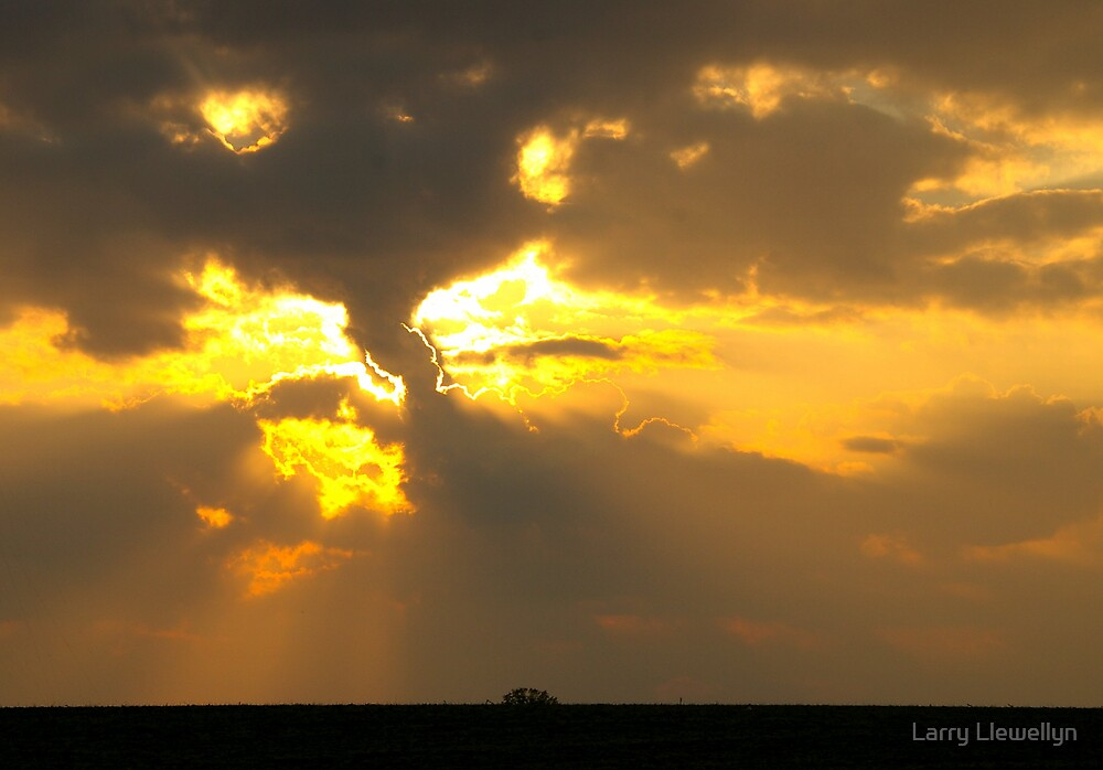 Last Light of Day...Series... No6 by Larry Llewellyn