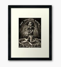 Let There Be Rock 2 Framed Print