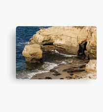 Scenes From Shell Beach In La Jolla - 2 © Canvas Print