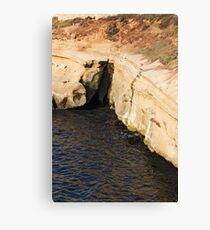 Scenes From Shell Beach In La Jolla - 3 © Canvas Print