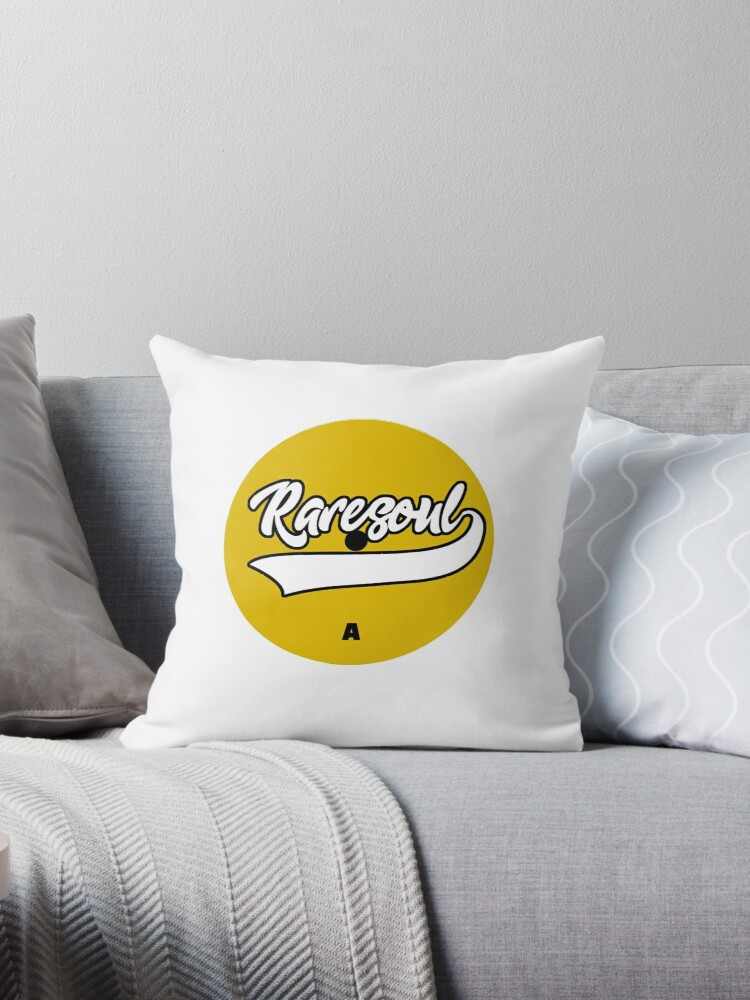 'Rare Soul Music Vinyl' Throw Pillow by SoulVisible