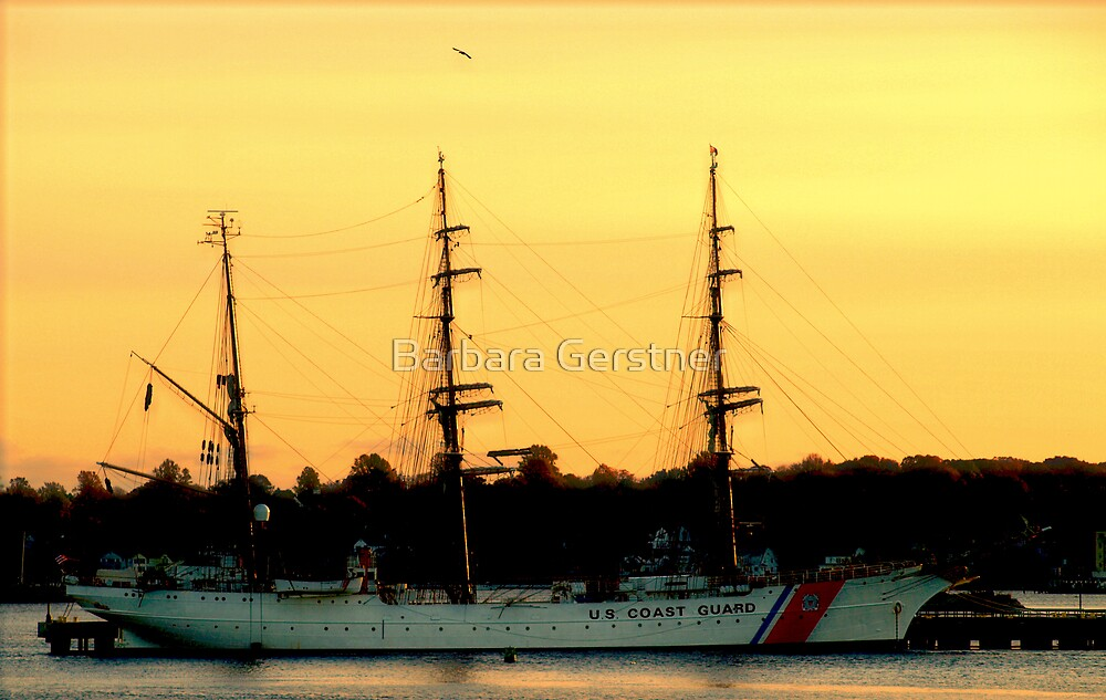 U S Coast Guard by Barbara Gerstner