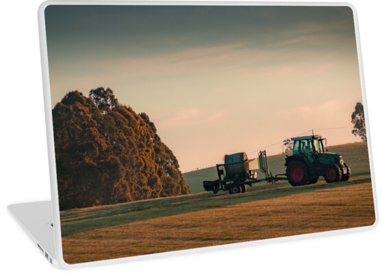 The Tractor & The Paddock  by taspaul