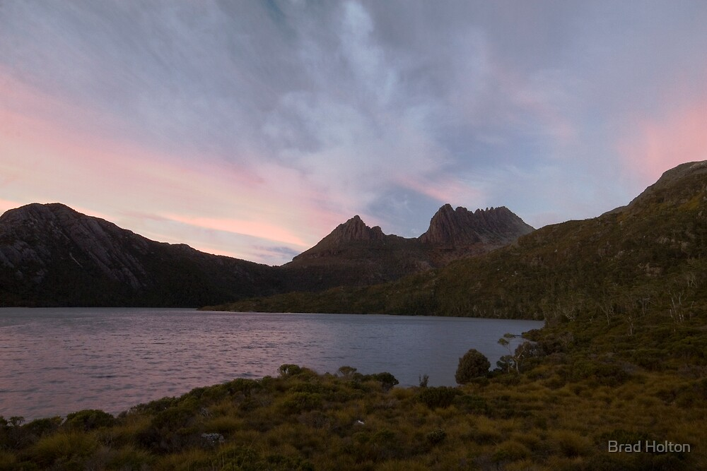 Cradle Mountain Sunrise by Brad Holton