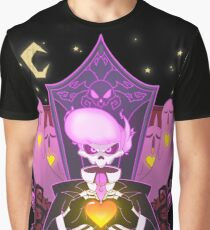 Mystery Skulls Ghost Graphic T-Shirt