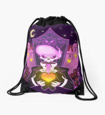 Mystery Skulls Ghost Drawstring Bag