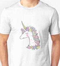 The Cute Magic Unicorn Unisex T-Shirt