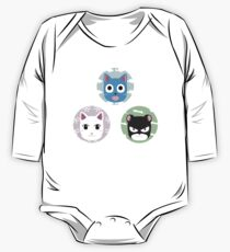 Chibi fairy cats One Piece - Long Sleeve