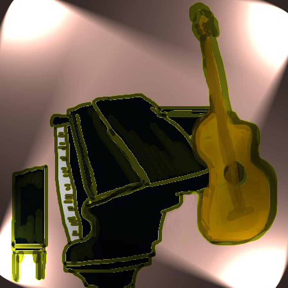 Piano and Guitar by Carole Boyd