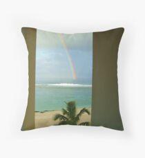 Raro Rainbow Throw Pillow