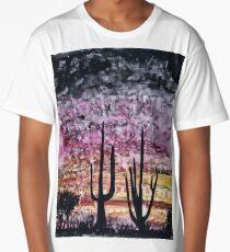 Desert cactuses Long T-Shirt