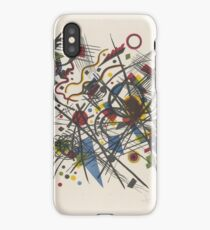 Lithograph in yellow, red, blue, black iPhone Case/Skin
