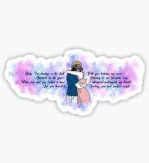 lyrics 3 Sticker