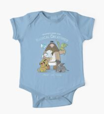 Hagrid's Home for Magical Creatures Short Sleeve Baby One-Piece