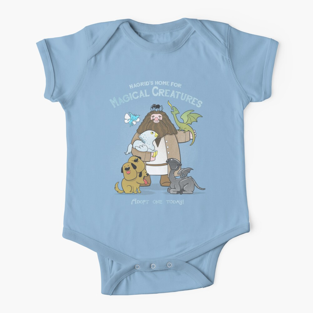 Hagrid's Home for Magical Creatures Baby One-Piece